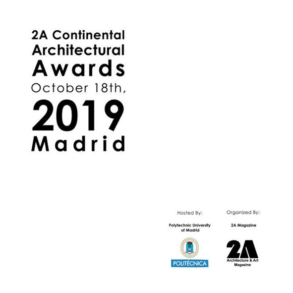 5th 2A Asia Architecture Award 2019