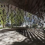 Columnless canopy in Tehran by Olgoo Architecture Office Iranian Architecture  12