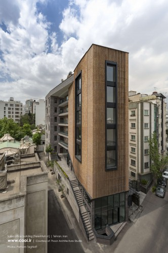 Saba Office Building in Tehran by 7Hoor Architecture Studio  1