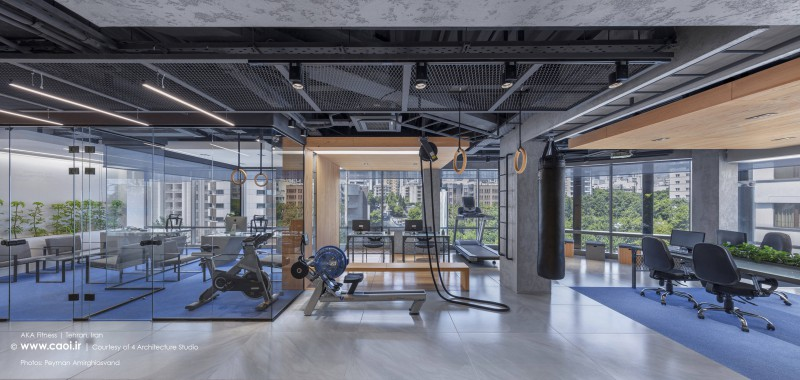 AKA fitness in Kamranieh Tehran 4 Architecture Studio  1
