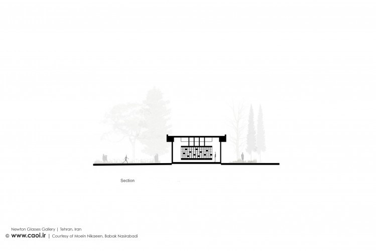 Design Process of Newton Glasses Gallery in Tehran by Moein Nikaeen and Babak Nasirabadi  10