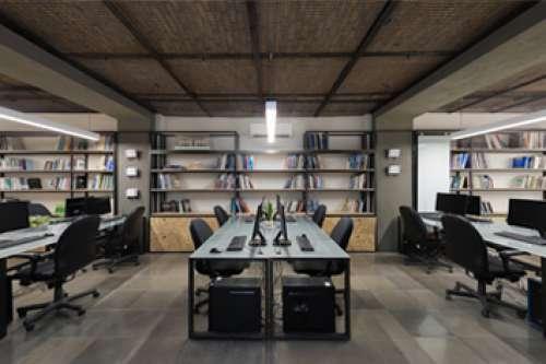 بازسازی دفتر مرکزی شرکت نشا و لابراتور نوآوری شهر آینده